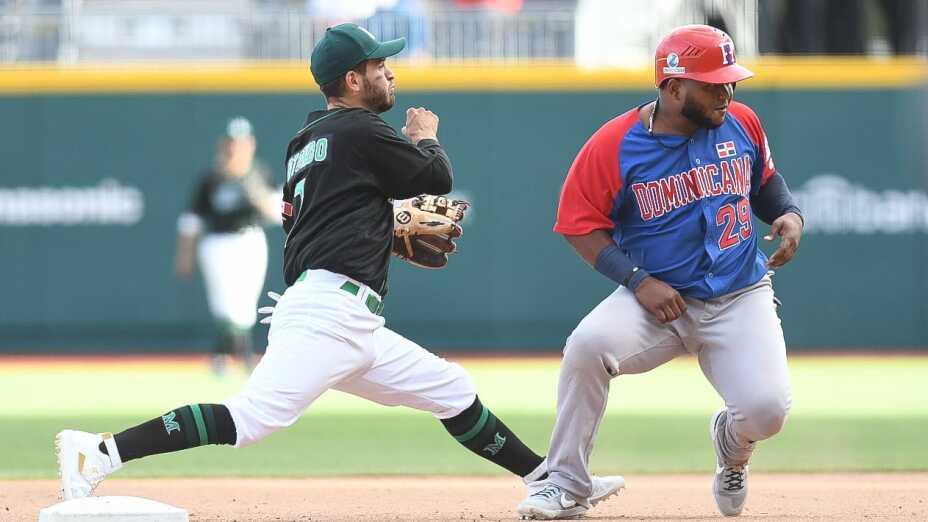 República Dominicana vs México partido amistoso beisbol