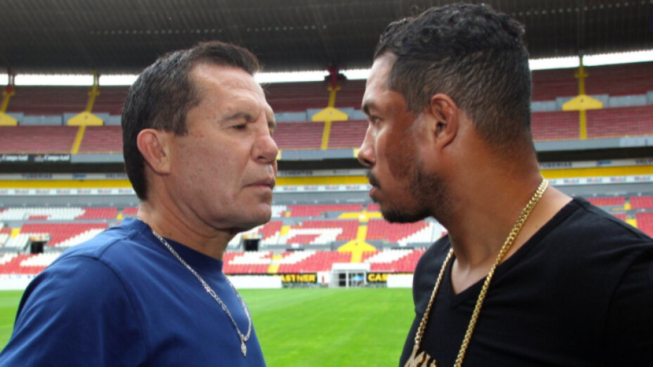 Héctor Macho Camacho Jr pelea Julio César Chávez