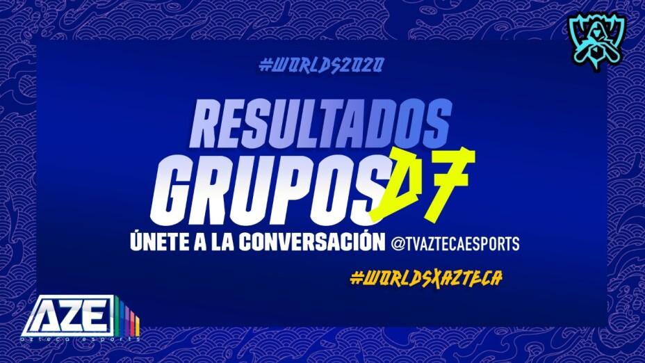 Resultados día 7 de los Worlds 2020