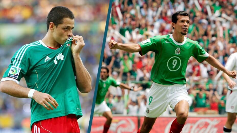 Javier Hernández fue alabado por Jared Borgetti