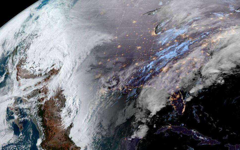 Resultado de imagen de vortice polar en méxico