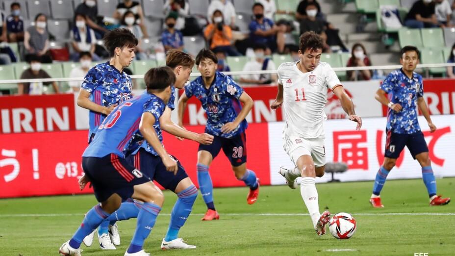 Japón vs España rumbo a Tokio 2020