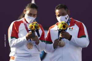 México gana medalla 70 en la historia Alejandra Valencia Luis Abuelo Álvarez
