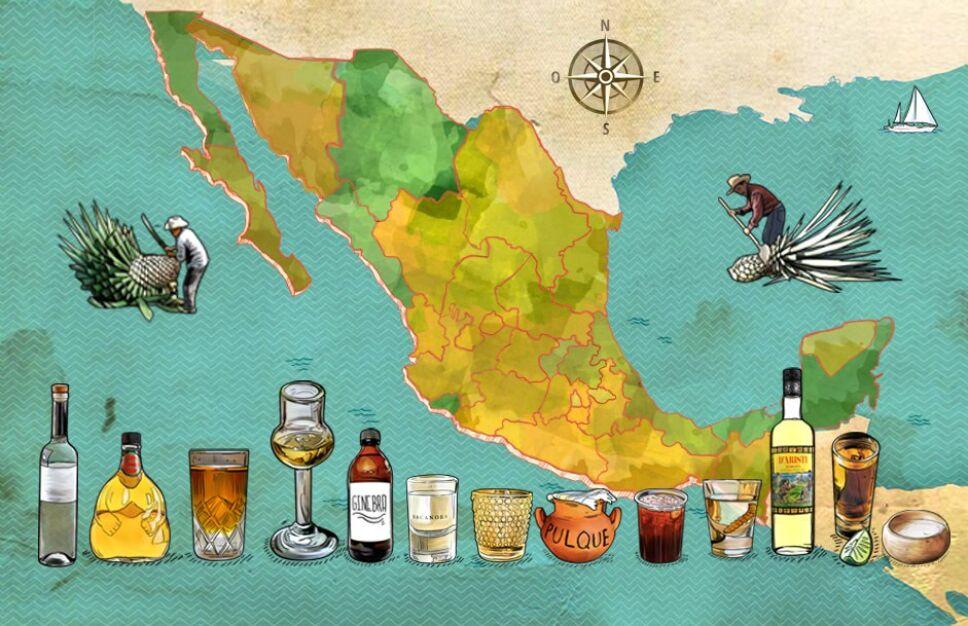 Destilados mexicanos