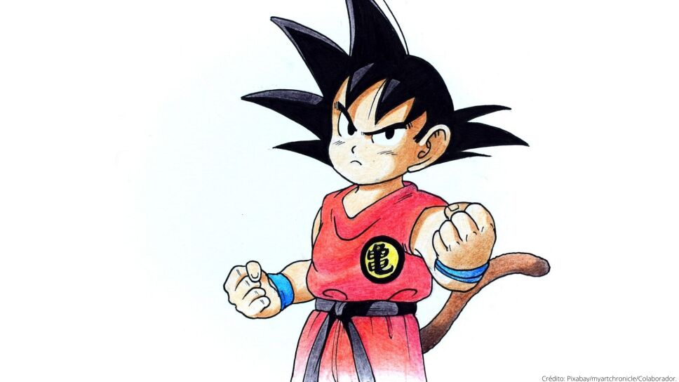 Personaje Goku de Dragon Ball