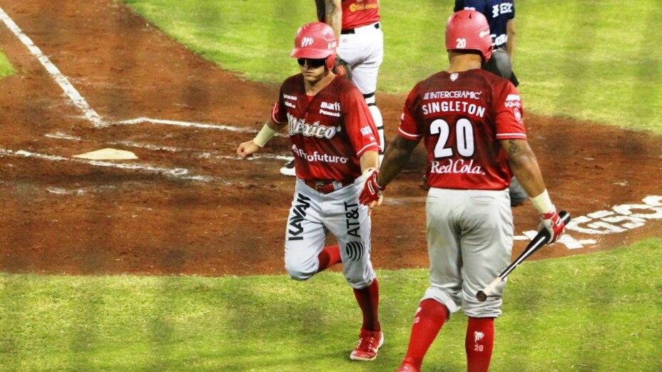 Diablos Rojos del México vs Piratas de Campeche Home Run Azteca