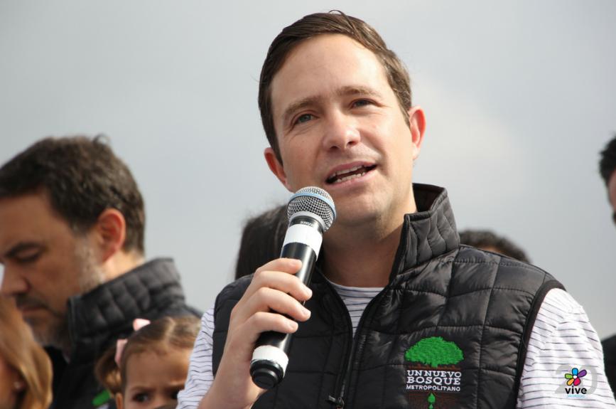 Benjamín Salinas, CEO de Tv Azteca.