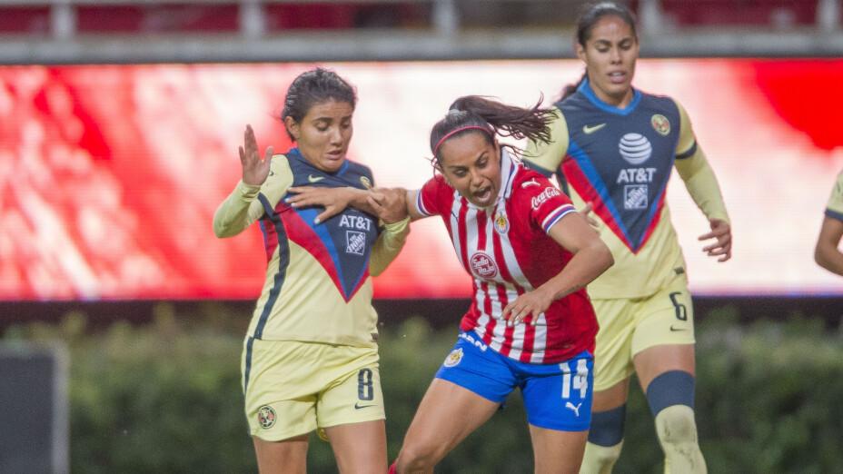 Clásico Nacional en Liguilla de Liga MX Femenil