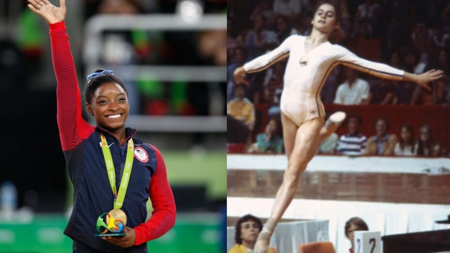 Simone Biles vs Nadia Comaneci