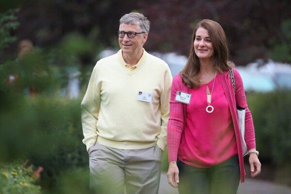 bill y melinda gates caminando divorcio