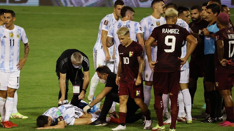 Argentina vs Venezuela.