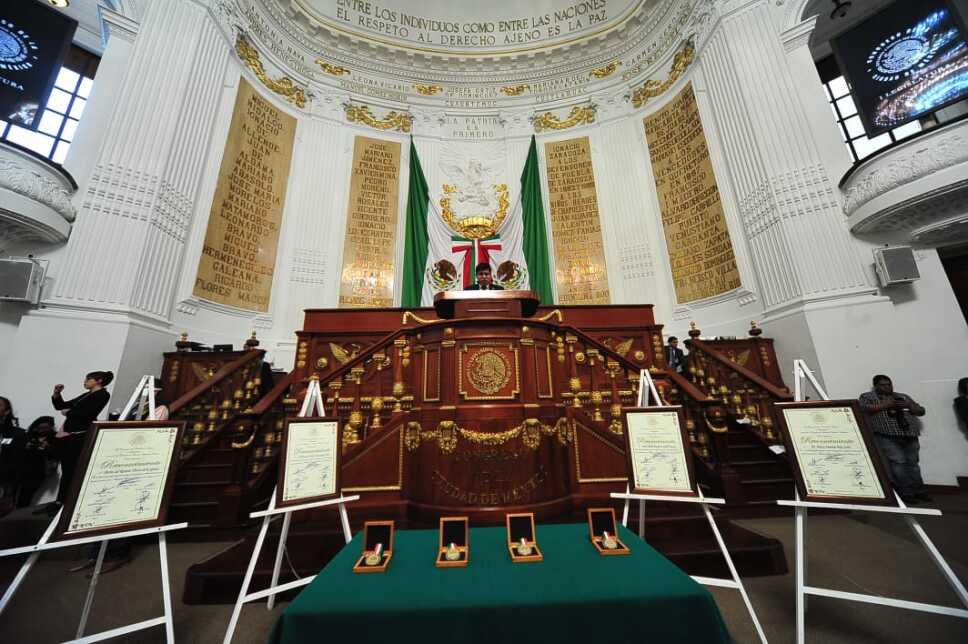 Congreso medallas