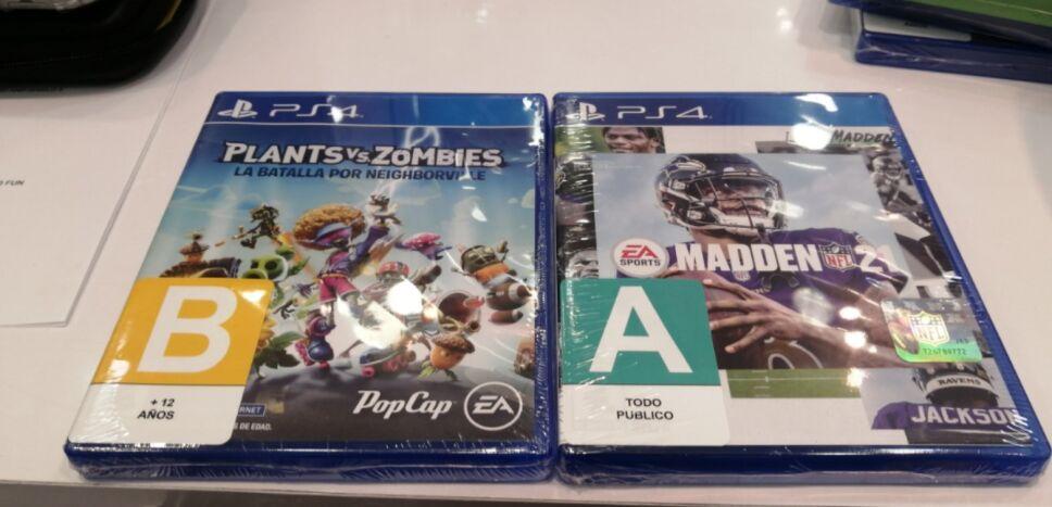 etiquetado de videojuegos