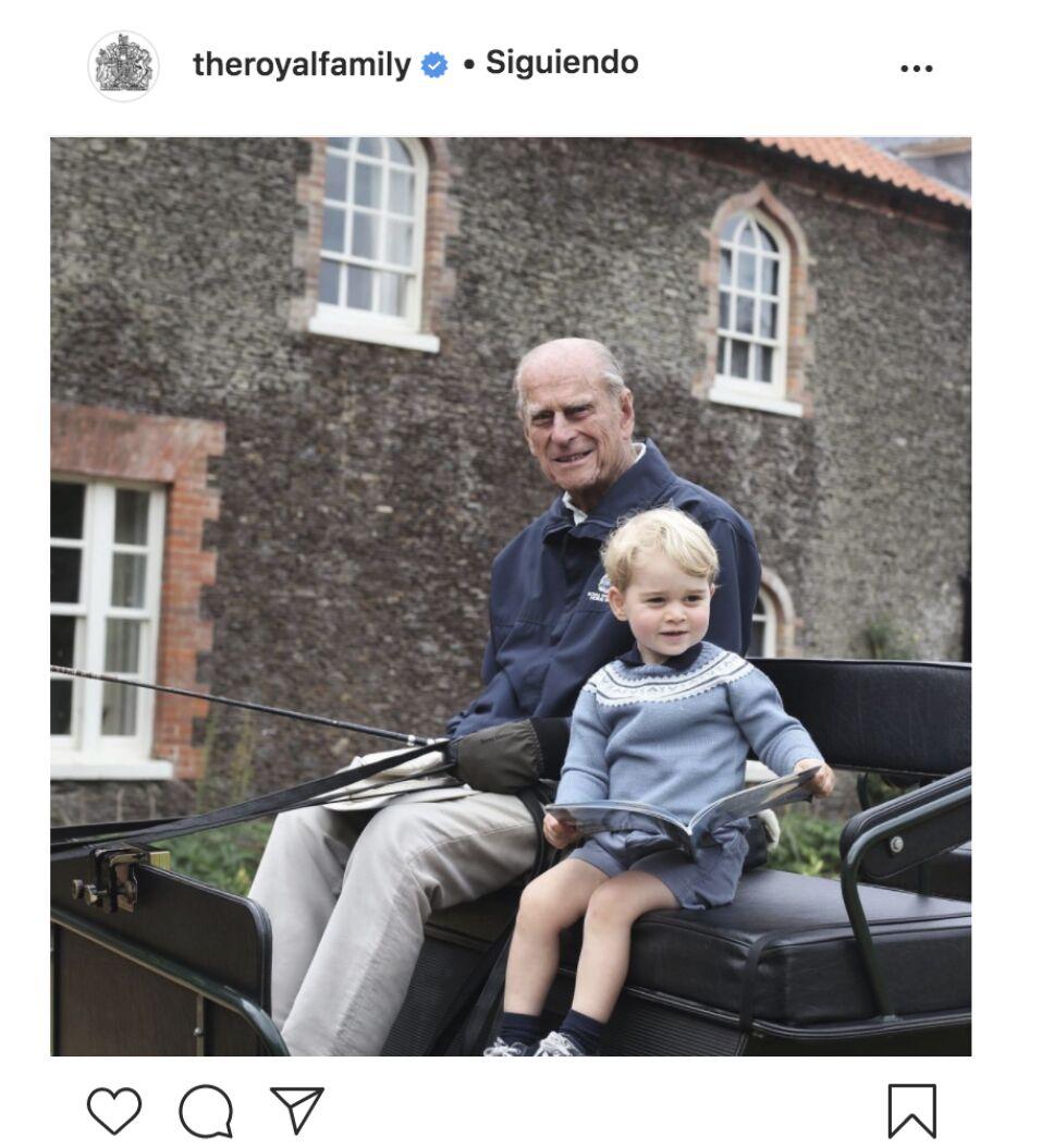 Mensaje del príncipe William a su abuelo