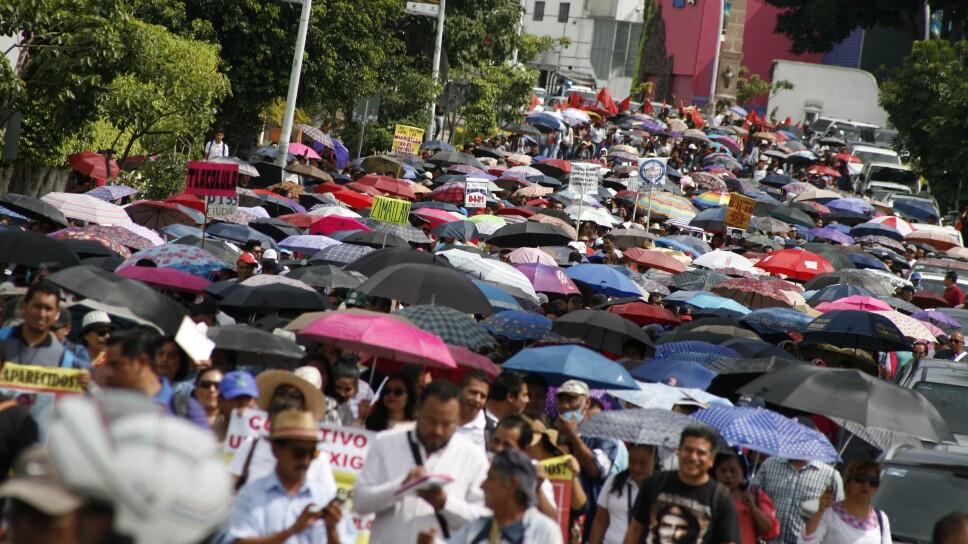 Manifestaciones por Desaparecidos en Oaxaca