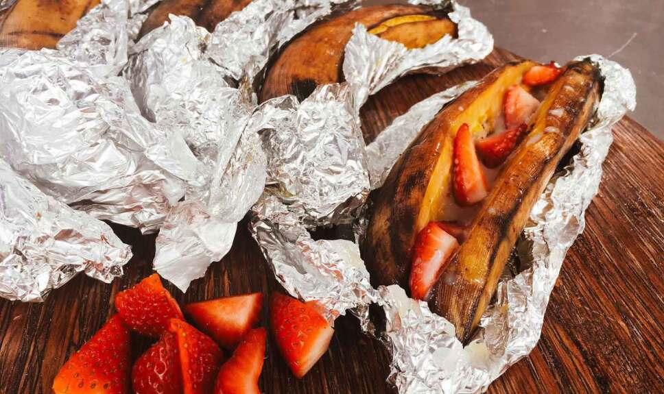 Receta Plátanos de carrito Cocineros Mexicanos