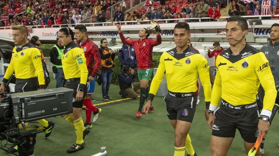 ¡Árbitros confirmados para la gran final de la Copa GNP por México!