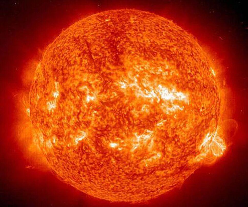 Erupción solar, tormenta geomagnética