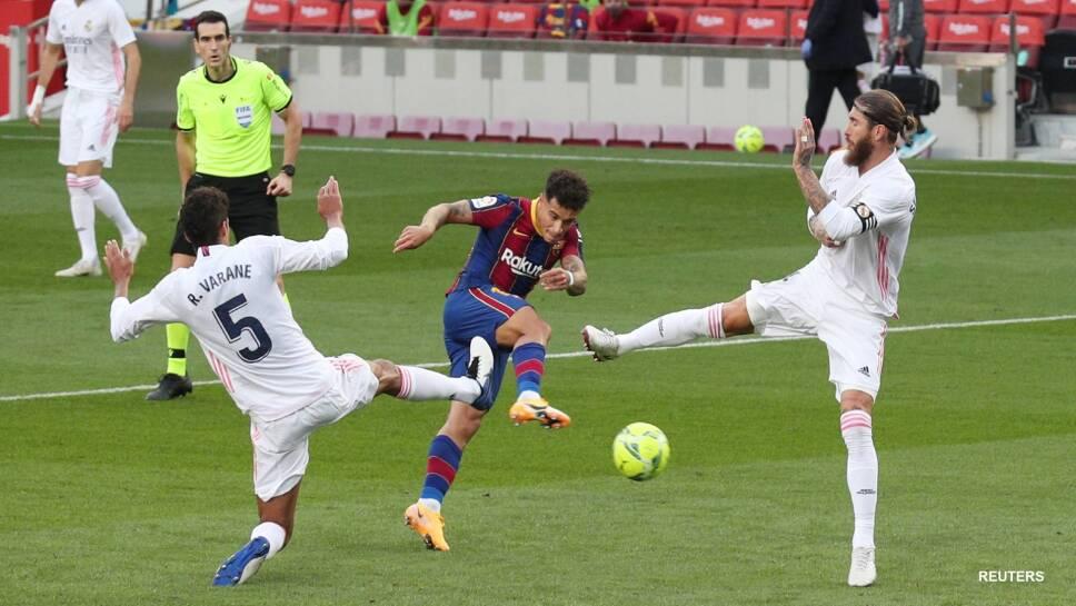 Barcelona pierde el clásico ante Real Madrid