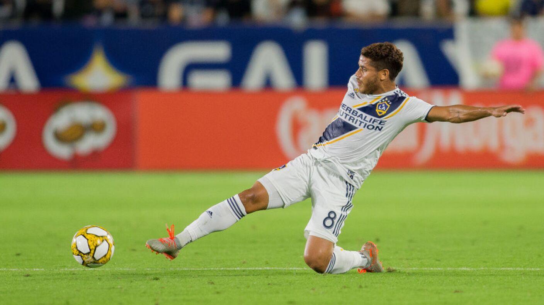Jonathan dos Santos milita en el Galaxy desde 2017.