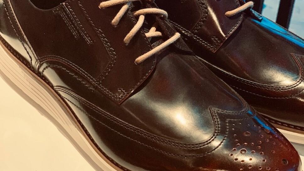 Dressy shoes con suela sport / Foto : Especial