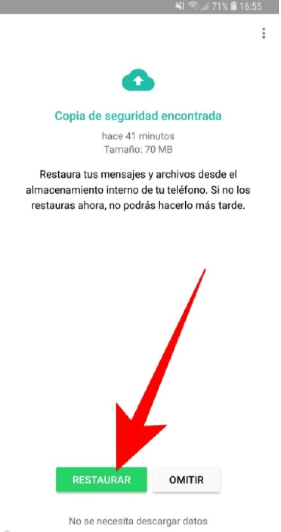 WhatsApp, mensajes borrados 5.jpg