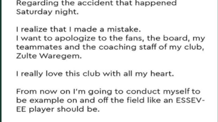 Omar Govea ofrece disculpas