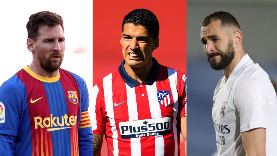Barcelona Atlético Real Madrid