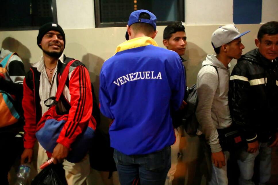 inmigrantes venezolanos peru