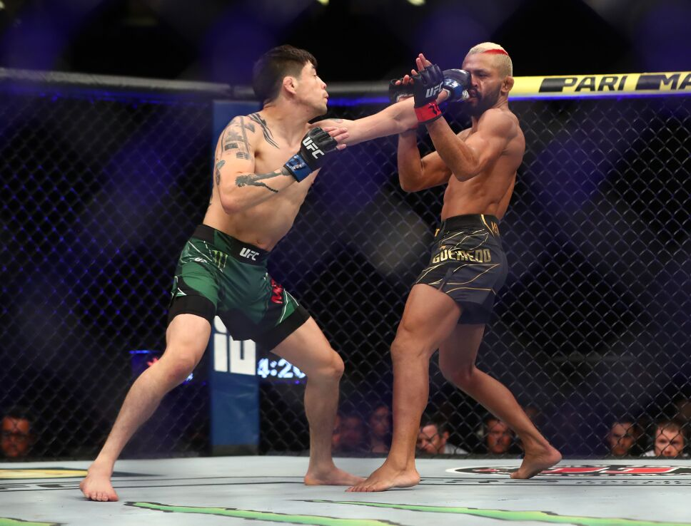 Brandon Moreno, campeón de la UFC