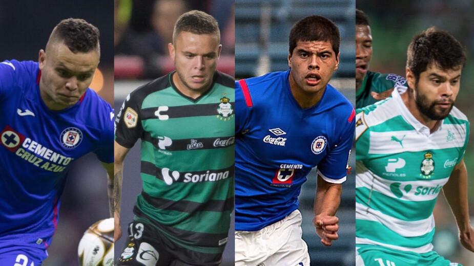 Jugadores que han vestido playera de Cruz Azul y Santos