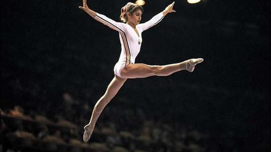 Nadia Comaneci, gimnasia artística