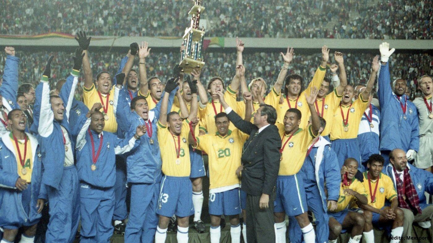 18 campeones ganadores Copa América 1995 2019.jpg