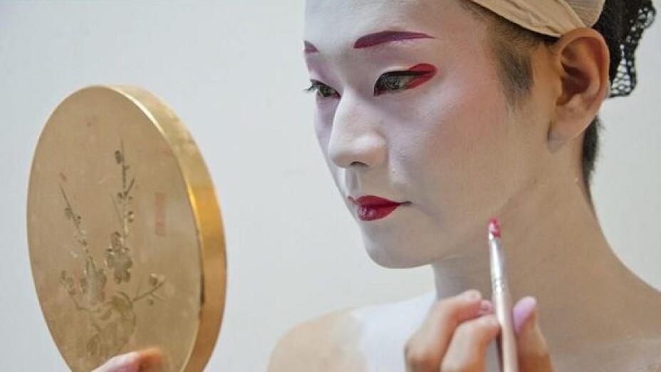 Hombre geisha