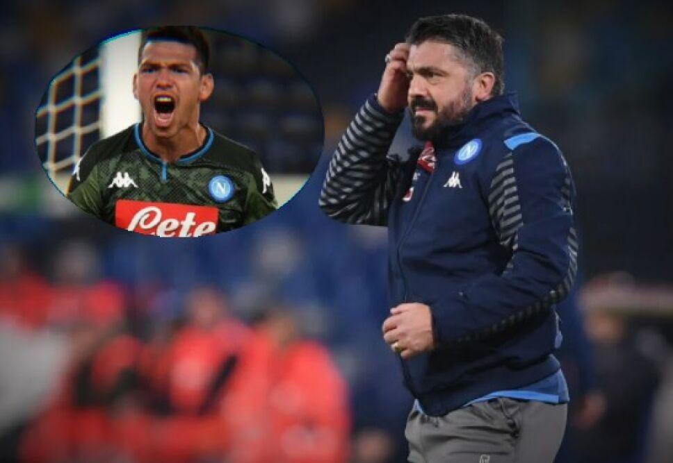Hirving Lozano y Gattuso