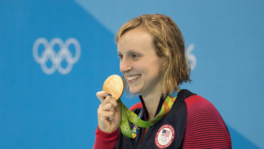Natación: Katie Ledecky