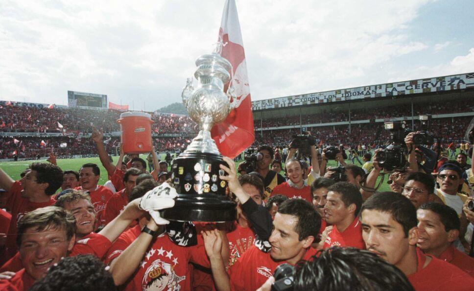 Toluca sumaba su sexto título de Liga MX hace 20 años