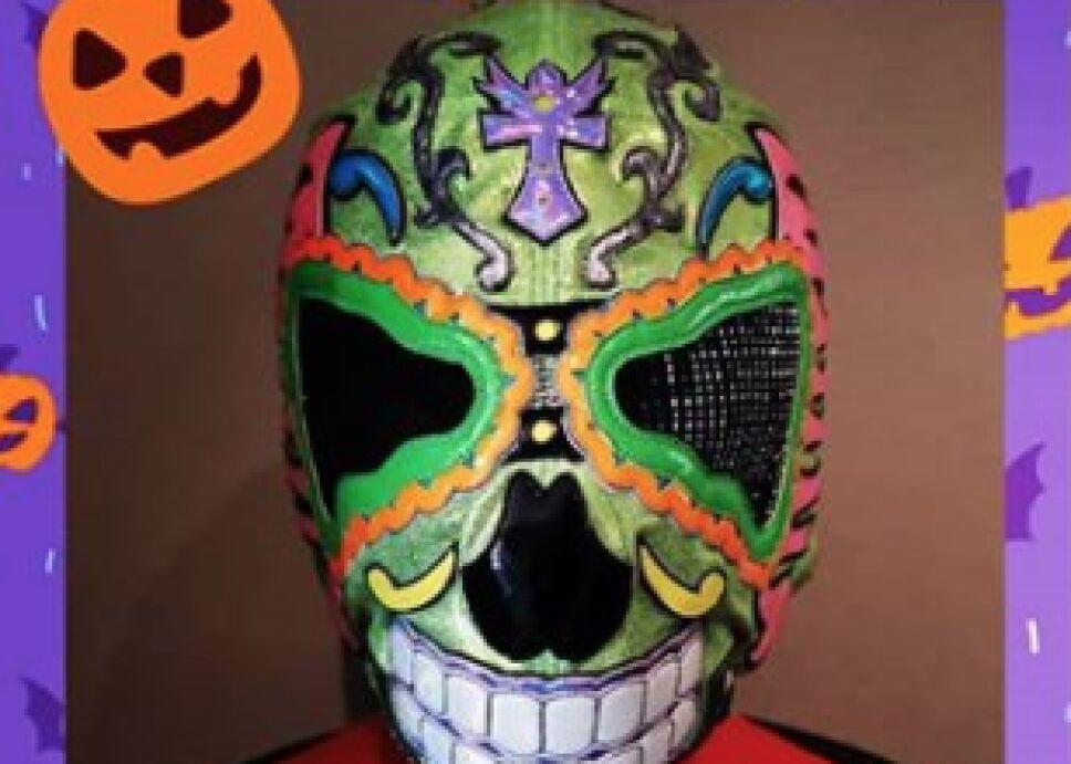 Lucha Azteca AAA Día de Muertos