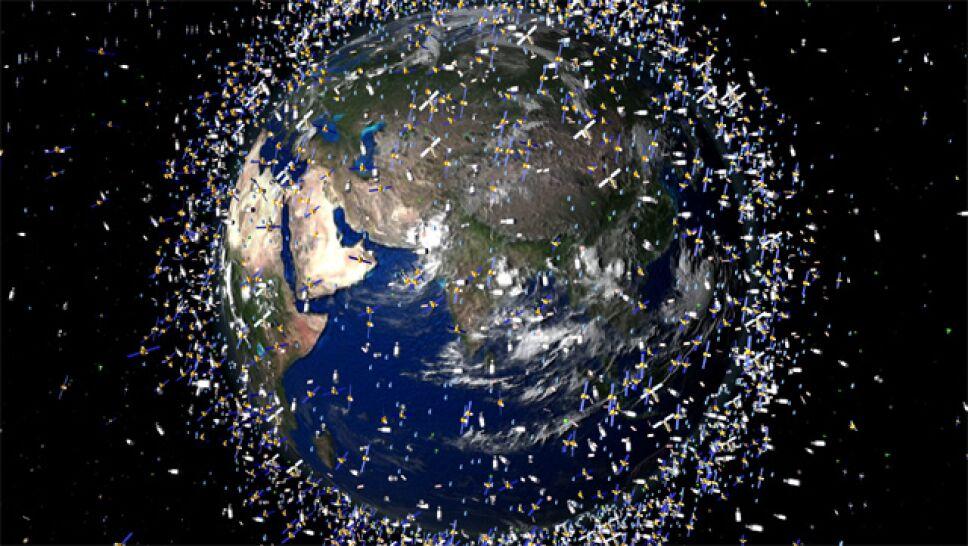 basura espacial aza