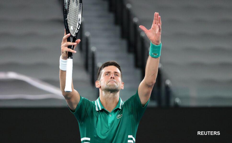 Novak Djokovic en el Abierto de Australia