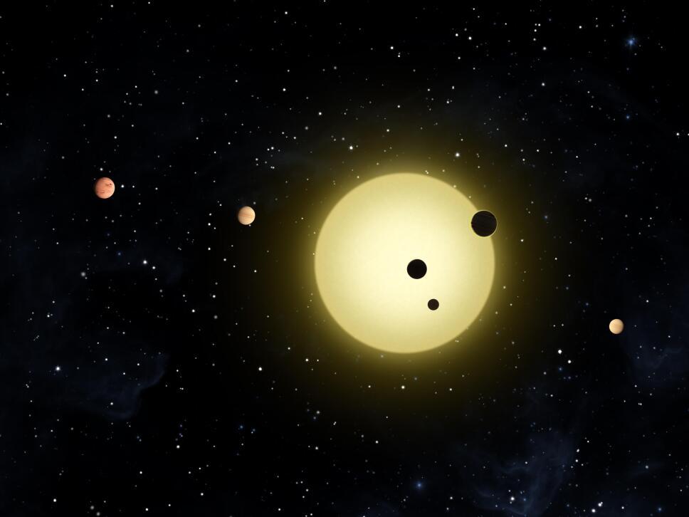 estrellas, planetas, sol