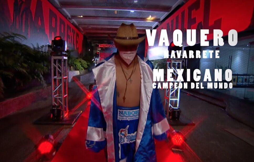 Emanuel Vaquero Navarrete boxeo