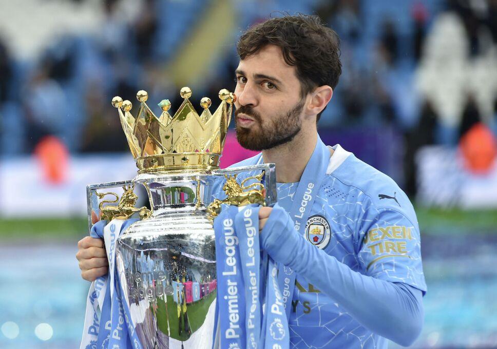 Bernardo Silva, futbolista del Manchester City