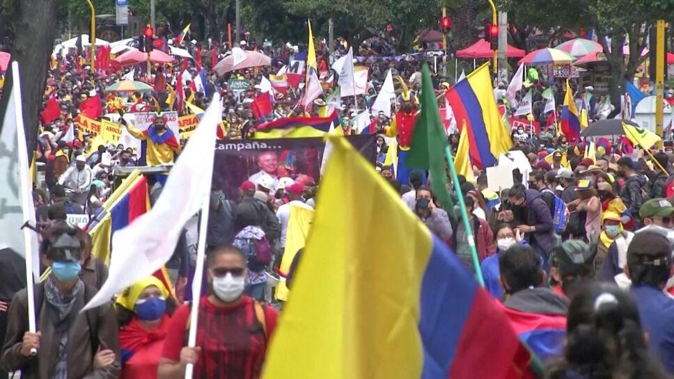 En Colombia vuelven protestas contra Iván Duque.