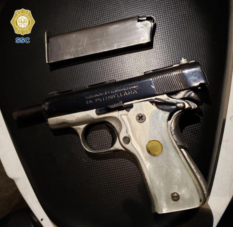 Posible arma homicida
