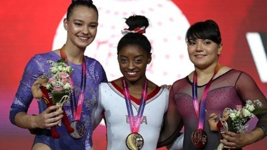 Gimnasta mexicana gana medalla de bronce en mundial de gimnasia