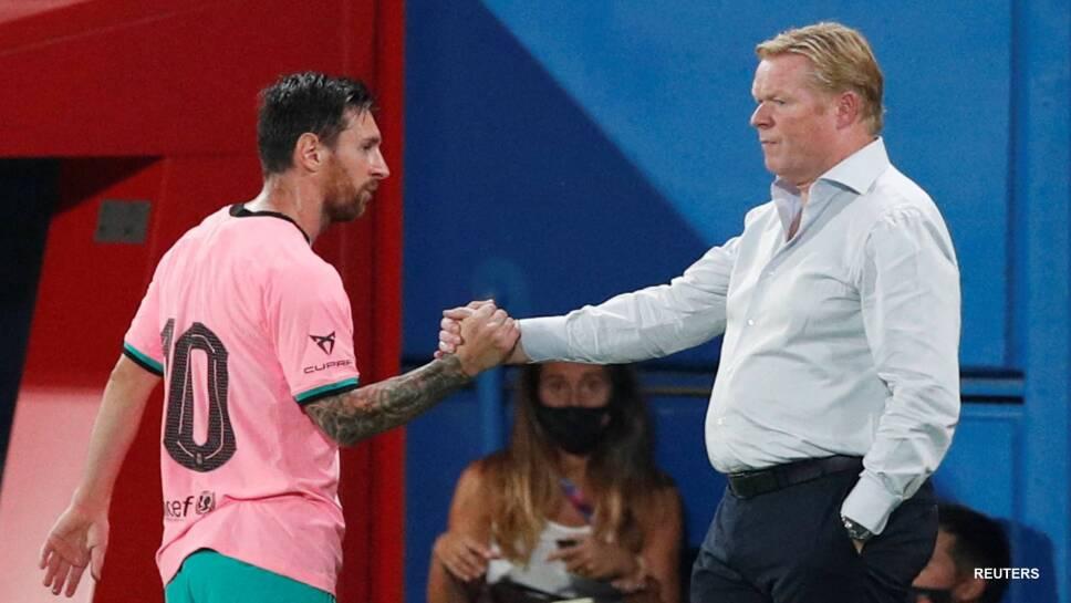 Ronald Koeman ve difícil que Barcelona pueda alzar la Copa de la Champions League
