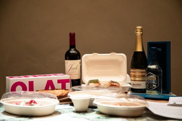 La canasta incluye un menú degustación y puede ser para dos o para cuatro personas