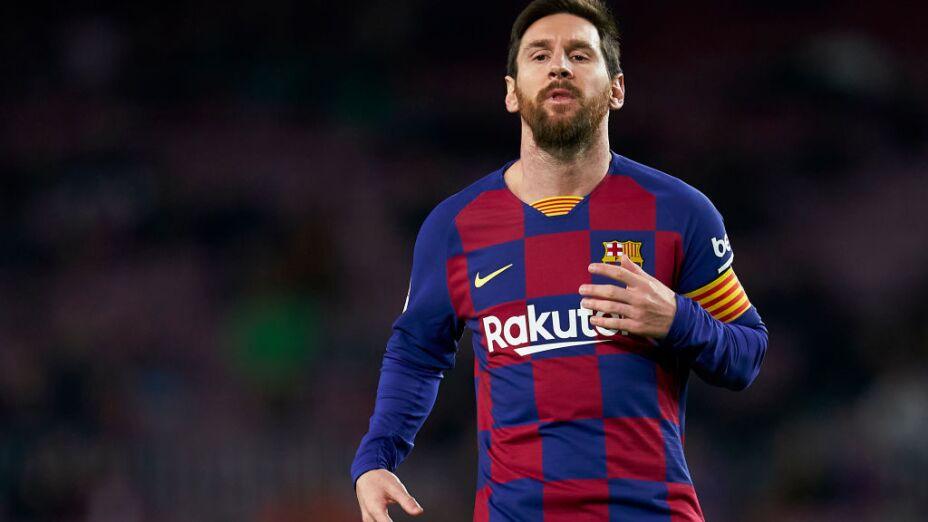Lionel Messi al inter de milán