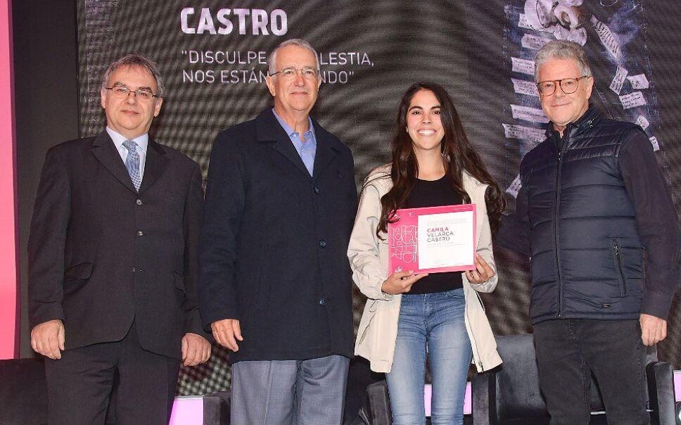 La ceremonia de premiación estuvo encabezada por Ricardo Salinas Pliego